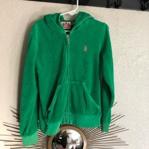Juicy couture terry cloth jacket